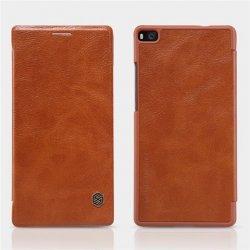 Pouzdro Nillkin Qin Book na Nokia Lumia 950 XL hnědé