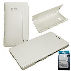 Pouzdro Nillkin Sparkle Folio na Lumia 532 bílé