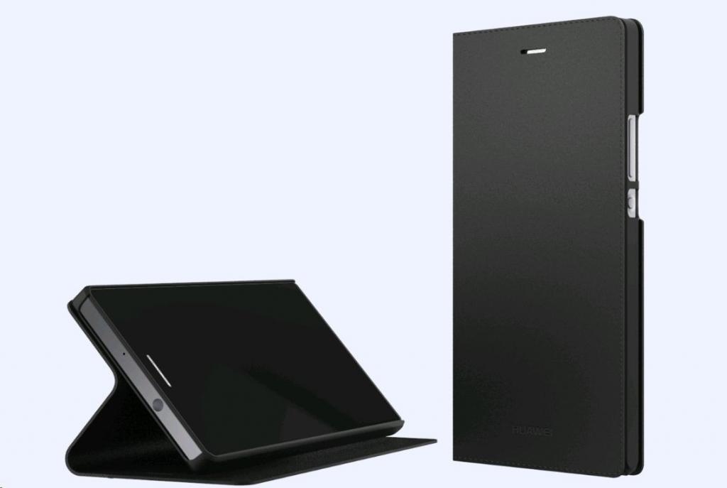 Originál Folio flipové pouzdro pro Huawei P8 Lite černé