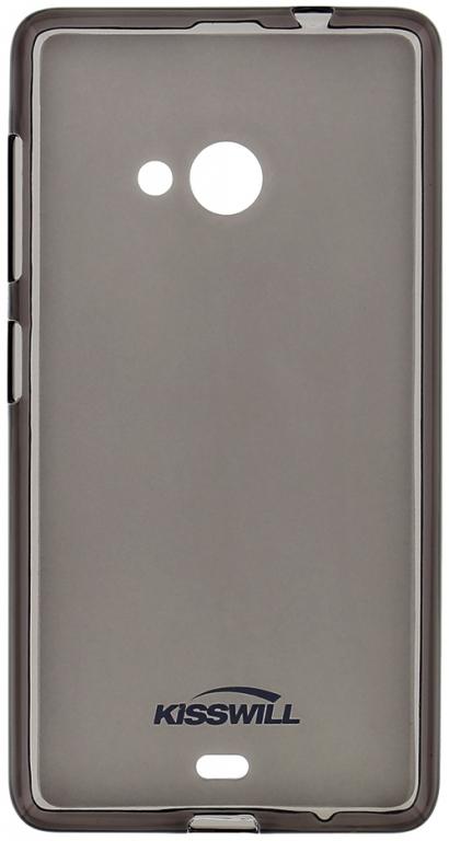 Pouzdro Kisswill silikonové pro Huawei Ascend Y635 černé