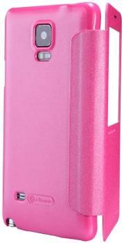 Pouzdro Nillkin Sparkle Folio na Microsoft Lumia 640 růžové