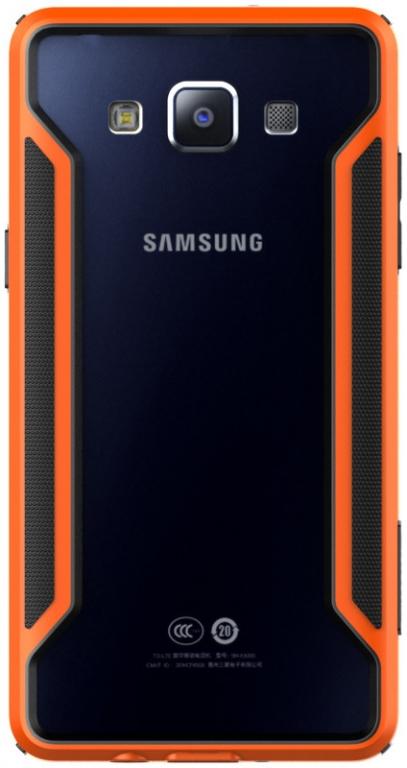 Pouzdro Nillkin Armor Bumper pro Samsung Galaxy A5 oranžové