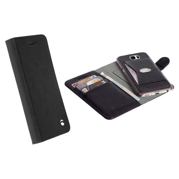 Krusell flipové pouzdro EKERÖ FolioWallet 2in1 Apple iPhone 7 black