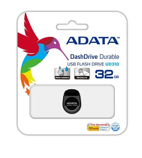 Flash disk ADATA USB UV100 8GB červený