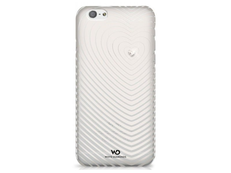 Pouzdro White Diamonds Heartbeat pro iPhone 6 bílé