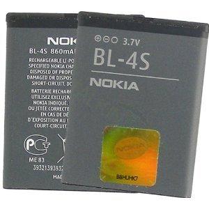 Baterie pro mobilní telefony BL-4S 860mAh Li-lon Nokia