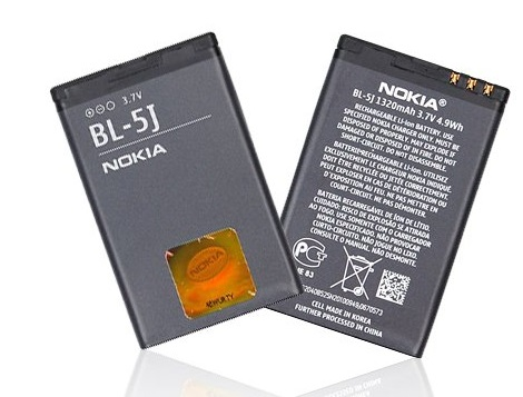 Baterie pro mobilní telefony BL-5J Li-Ion 1430 mAh Nokia