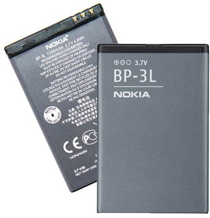 Baterie pro mobilní telefony BP-3L 1300mAh Li-Ion Nokia