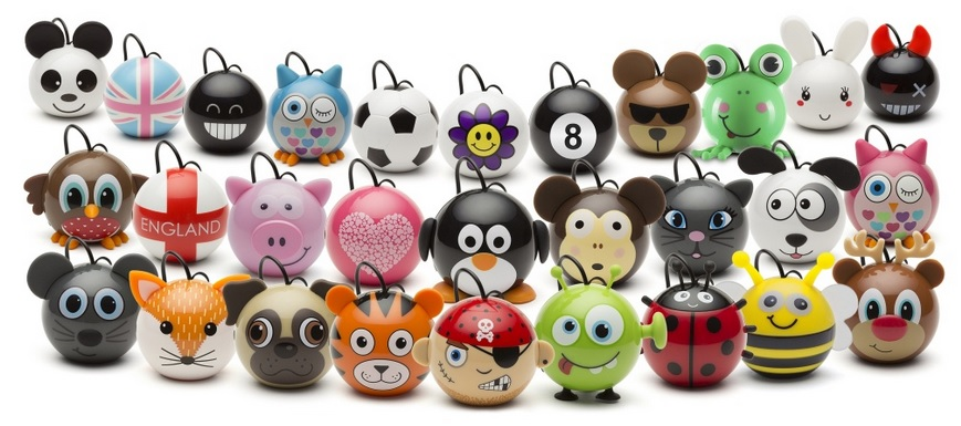 Reproduktor KITSOUND Mini Buddy Bear, 3,5 mm jack