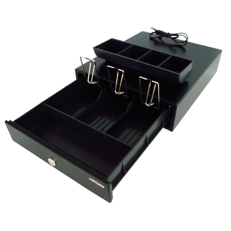 Virtuos pokladní zásuvka mikro EK-300, černá