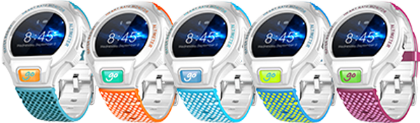ALCATEL ONETOUCH GO WATCH SM03, White Green Blue