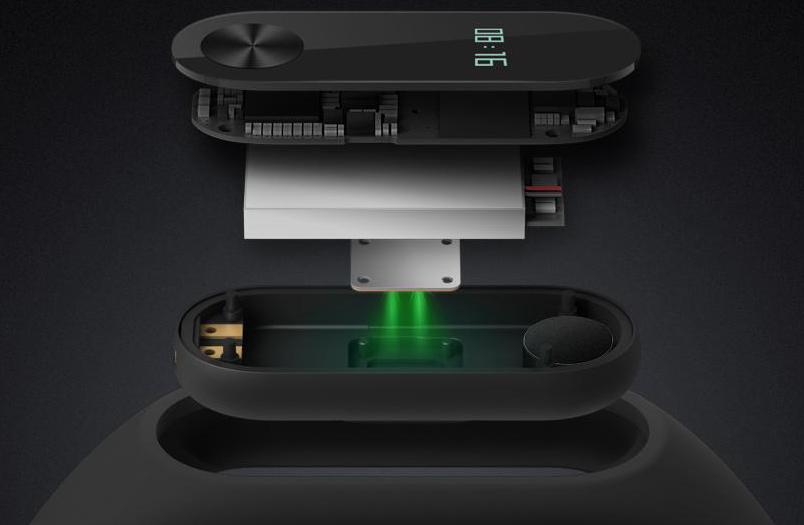 Xiaomi Mi Band 2 - hardware
