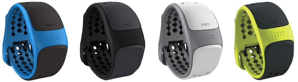 Mio LINK zápěstní senzor srdečního tepu s krátkým páskem - bílý