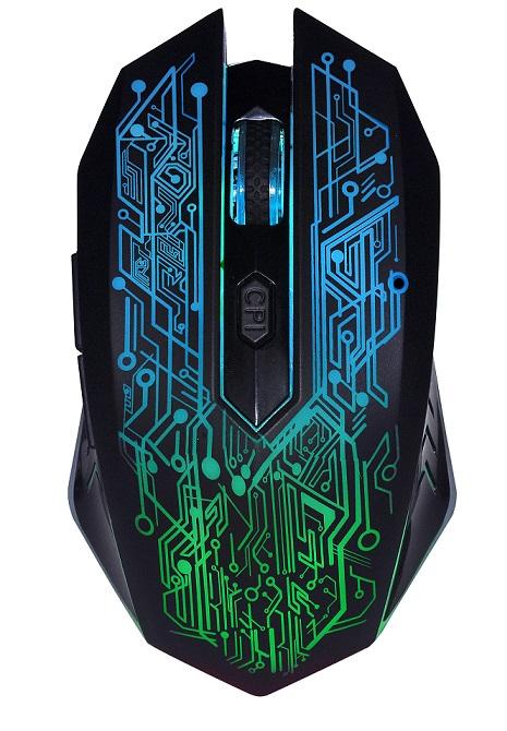 EVOLVEO WML420 bezdrátová herní myš, 2,4Ghz, USB, podsvícená