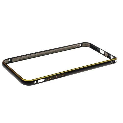 Pouzdro Bumper Aluminium pro Samsung Galaxy S6 (G920F), zlaté