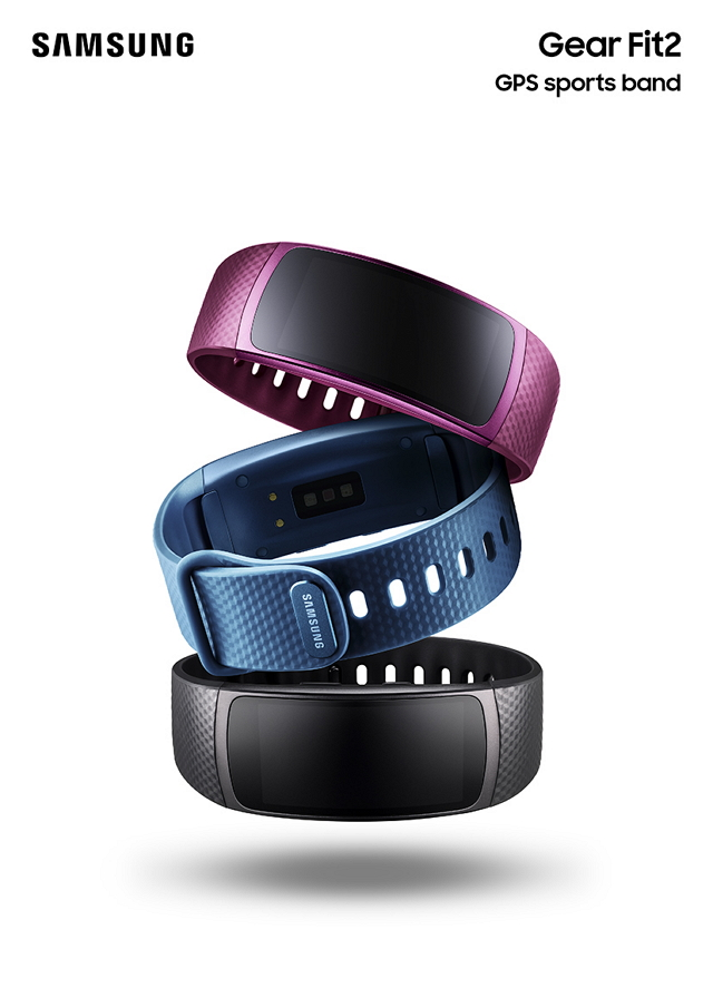 Samsung Galaxy Gear Fit2 SM-R360 Blue vel. L