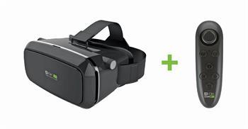 Virtuální brýle 4-OK VR GLASSES + Bluetooth ovladač 4-OK VR CONTROLLER