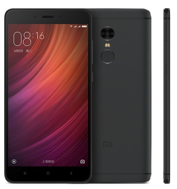 Xiaomi Redmi Note 4 Black 64GB/3GB