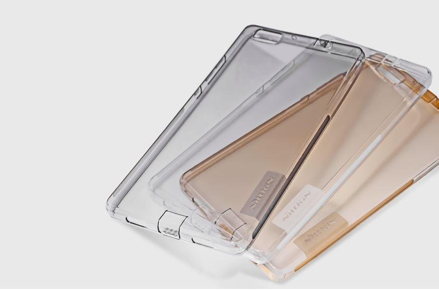Silikonové pouzdro na Kisswill pro iPhone 5/5S Transparent/Gold