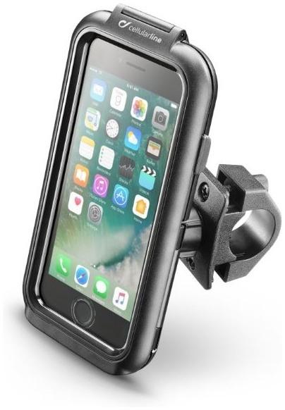 Voděodolné pouzdro Interphone pro Apple iPhone 7 + úchyt na řídítka