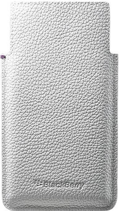 Pouzdro BlackBerry ACC-60115 pro mobil BlackBerry Leap, bílá