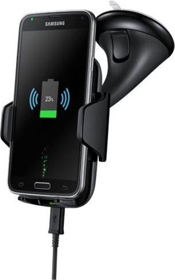 Držák do auta Samsung EP-HN910I univerzální s funkcí bezdrátového nabíjení, černý