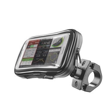 """Držák na kolo a pouzdro s dotykovým ovládáním Cellularline OFFROAD pro telefony do 5,2"""""""