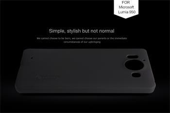 Zadní kryt Nillkin Super Frosted pro Nokia Lumia 950 XL, černý