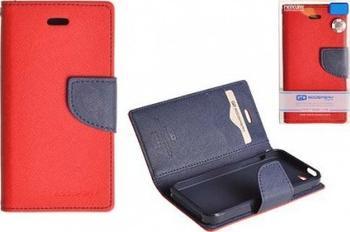 Flipové pouzdro pro Microsoft Lumia 532 Fancy Diary, červeno-modré