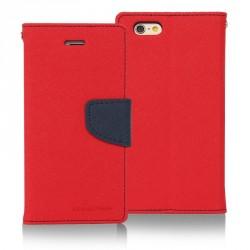Flipové pouzdro pro Microsoft Lumia 535 Fancy Diary červeno/modrá