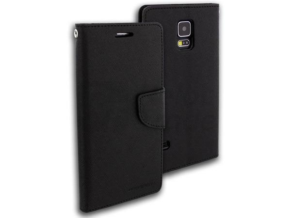 Fancy Diary Folio flipové pouzdro pro LG K10, černé