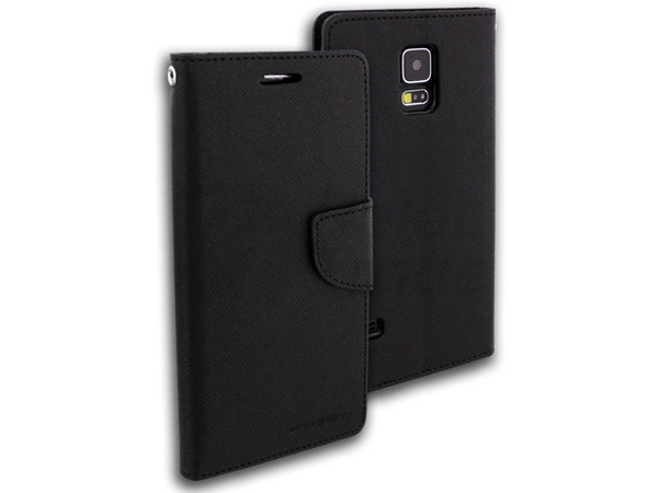 Flipové pouzdro pro Microsoft Lumia 535 Fancy Diary černé