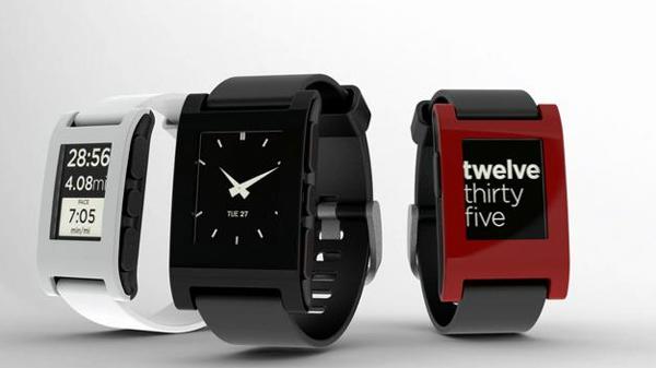 Chytré hodinky Pebble Smartwatch, černé