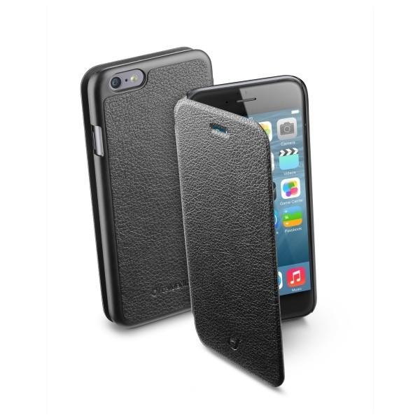 Pouzdro CellularLine Book Essential HTC ONE M10 black