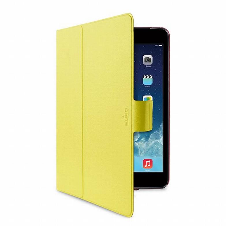 PURO BI-COLOR 360° pouzdro flip Apple iPad mini Retina žluté/růžové