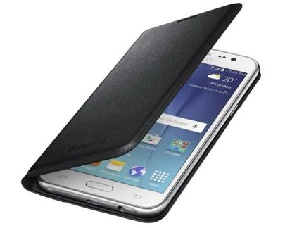 Samsung EF-WJ510PBE pouzdro flip Samsung Galaxy J5 2016 černé