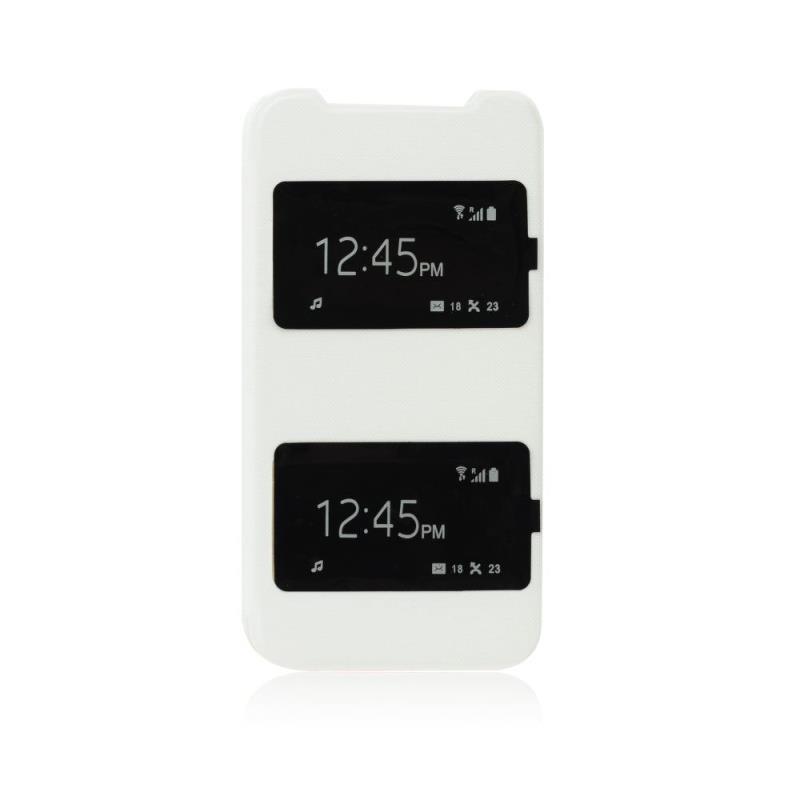 ForCell S-View flipové pouzdro na HTC Desire 310 bílé