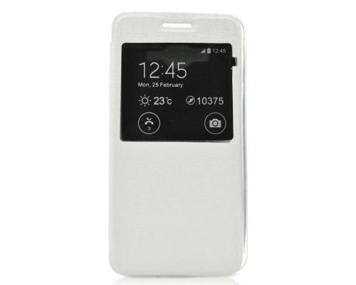 ForCell S-View flipové pouzdro Samsung Galaxy A3 A300 bílé