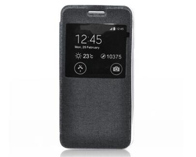Forcell S-View flipové pouzdro Sony Xperia Z3+(Z4) E6553 černé