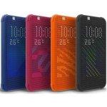HTC HC M140 Dot View flipové pouzdro HTC Desire 620 modré