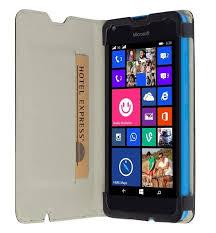 Krusell MALMÖ flipové pouzdro Microsoft Lumia 550 černé