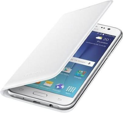 Samsung EF-WJ510PWE pouzdro flip Samsung Galaxy J5 2016 bílé