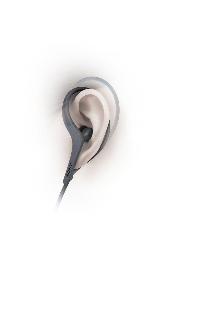 SONY sluchátka ACTIVE MDR-AS410AP Handsfree černá
