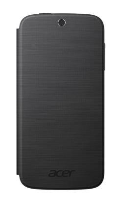 Pouzdro flip na Acer Liquid Z330 tmavě šedé
