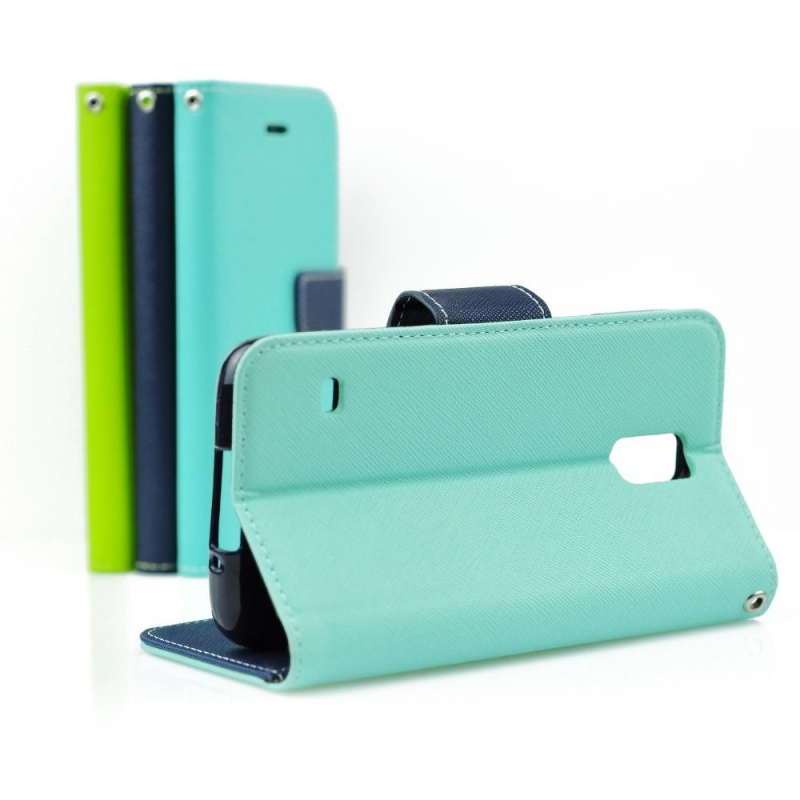Fancy Diary flipové puzdro Huawei P9 Lite mätovej-modré
