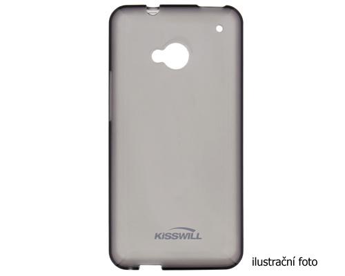 Kisswill silikonové pouzdro na Samsung Galaxy A3 2016 černé