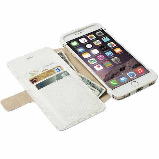 Krusell MALMÖ flipové pouzdro Apple iPhone 6 Plus bílé