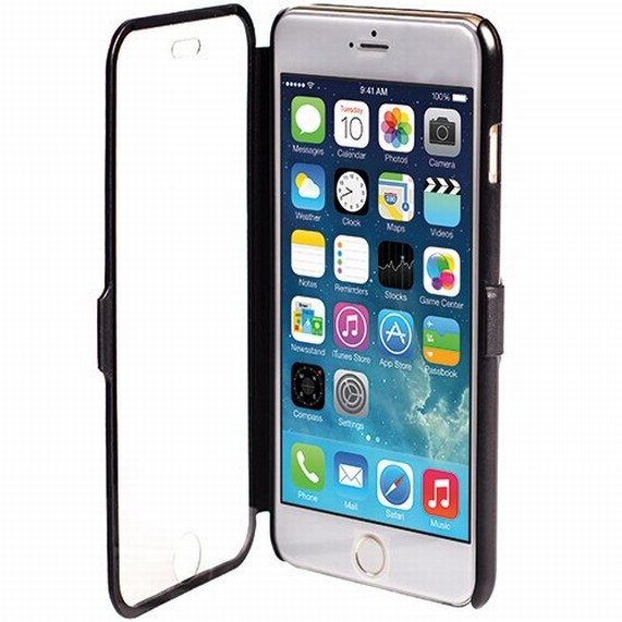 Krusell DONSÖ VIEWCASE pouzdro flip Apple iPhone 6 Plus černé