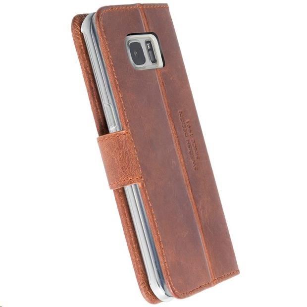 Krusell púzdro flip Sunne 5 Card SM Galaxy S8 hnedé