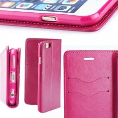 Magnet Book pouzdro flip Apple iPhone 5/5s/SE růžové